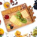 Latitude Run® Charcuterie Bamboo Cheese Board Bamboo, Size 14.0 W in | Wayfair 46A90231E0BE4EF7BD61D4FEC7C48561