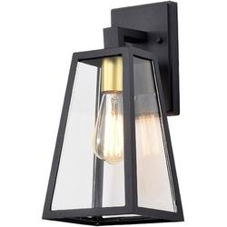 17 Stories Outdoor Wall Sconce Black Outdoor Light Fixture 1 Light Outdoor Wall Lantern Modern Outdoor Lights Wall Mount Porch Light Fixtures Exterior Wall Light