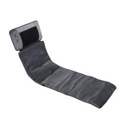 Inbox Zero Massage Chair Pad Full Body Waist Shoulder Massage Shock Kneading Massage in Black, Size 15.5512 H x 7.2835 W x 19.0945 D in | Wayfair