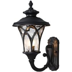 Alcott Hill® Industrial Outdoor Wall Light Vintage Style Large Size Waterproof Outside Wall Lantern,Exterior Wall Lighting For House Patio Porch Lighting