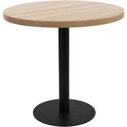 Table de bistro Marron clair 80 cm MDF
