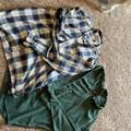 Ralph Lauren Shirts   2 Euc Mens Button Down Shirts.   Color: Blue/Green   Size: Xl