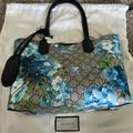 Gucci Bags   Gucci Blooms Small Reversible Tote Bag Nwt   Color: Blue   Size: Os