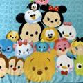 Disney Bedding   Disney Baby Mickey Mouse Minnie Donald Blanket   Color: Blue/Yellow   Size: Twin