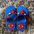 Disney Shoes | Kids Spider-Man Flip Flops Size 1112 | Color: Blue/Red | Size: 11b