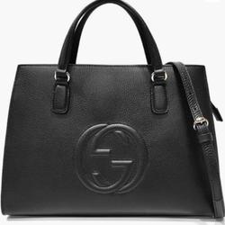 Gucci Bags | Gucci Soho Leather Top Handle Bag Zip Closure | Color: Red | Size: Os