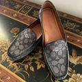 Coach Shoes   Coach Logo - Black Driving Shoes   Color: Black   Size: 8m