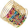 Mystic Indian Bracelet - Metallic - Mercedes Salazar Bracelets