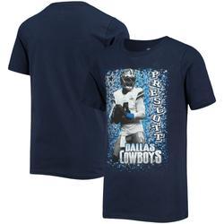 Men's Dak Prescott Navy Dallas Cowboys U Da Man T-Shirt