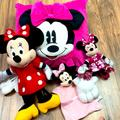 Disney Toys | Disney Minnie Mouse Stuffieplush Bundle Of 4 | Color: Pink/Red | Size: Osbb