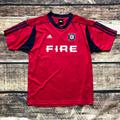 Adidas Shirts & Tops | Chicago Fire Adidas Authentic Soccer Player Jersey | Color: Blue/Red | Size: Xlb