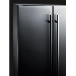 """""""24"""""""" Wide Built-In Wine/Beverage Center - Summit Appliance CL64FDSS"""""""