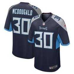 """Men's Nike Bradley McDougald Navy Tennessee Titans Game Jersey"""