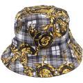 Baroque-print Hat - Gray - Versace Jeans Hats