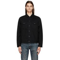 Definitive Jean Jacket Classic Fit Black Jean Jacket - Black - Rag & Bone Jackets
