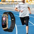 Montre connectée de Sport unisexe, Bluetooth 4.0, connexion avec fréquence cardiaque, pour hommes et