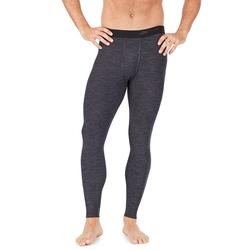 Men's Climatesmart by Cuddl Duds Midweight ClimateSport Performance Base Layer Pants, Size: Medium, Med Grey