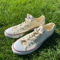Converse Shoes   Mens Size 11 Low Top Converse   Color: Cream   Size: 11