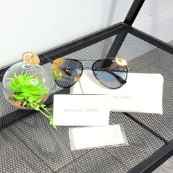Michael Kors Accessories | Michael Kors Mk1026 La Jolla Sunglasses W Case | Color: Black/Gold | Size: Os