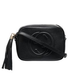 Gucci Bags | Gucci Soho Leather Crossbody Bag | Color: Black | Size: Os