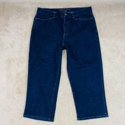Ralph Lauren Jeans   Lauren Jeans Co Ralph Lauren Crop Jeans 10   Color: Blue   Size: 10