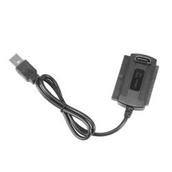 ALLOMN High Performance Black USB 2.0 To IDE/SATA 2.5/3.5Inch Hard Drive Disk HDD Converter Adapter | Wayfair 2650563-US-LJB-210820