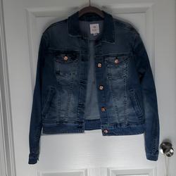 Lularoe Jackets & Coats | Lularoe Harvey Jean Jacket | Color: Blue | Size: M