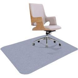 IMMORTAL Office Chair Mat,Chair Mat Premium Office Hard Floor Protector, Desk Chair Mat Floor Protector in Indigo, Size 0.16 H x 47.0 W x 35.0 D in