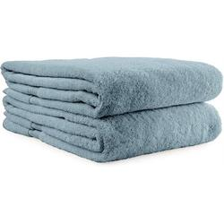 DIANCANG Bath Towel Cotton Blend in Blue | Wayfair A0B1B0854NSJC3A0B0