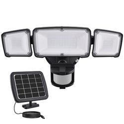 LAKEKYD 1600LM LED Solar Security Light Outdoor, Solar Motion Sensor Light w/ 2400Mah Battery, 3 Adjustable Head, 5500K   Wayfair LAKEKYDe15e19b