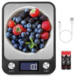 OXINGO Digital Kitchen Scale, 22Lb/10Kg Food Scale w/ LCD Display, 7 Units w/ Tare Function, Weight Grams & Oz For Cooking/Baking | Wayfair