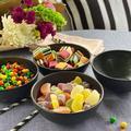 Old Hong Trading BPA-Free Dishwasher Safe 100% Melamine Designed 23Oz Bowl Set Best For Indoor in Black   Wayfair X17VXQ08KPZB6SN