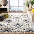 Foundry Select Kwabena Tassel Shag Collection MTS688F Boho Non-Shedding Living Room Bedroom Dining Room Entryway Plush 2-Inch Thick Area Rug Wayfair