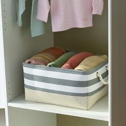 Rosecliff Heights Storage Basket Fabric Basket w/ Handles Dog Toy Basket Cloth Storage Bin Shelf Basket Decorative Storage Basket Shoe Basket Gift Basket