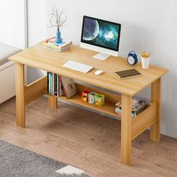Latitude Run® Home Office Computer Desk Computer Workstations Bedroom Laptop Study Table Office Desk Workstation Home Desktop Computer Desk Gaming PC Laptop Desk Wo Wood