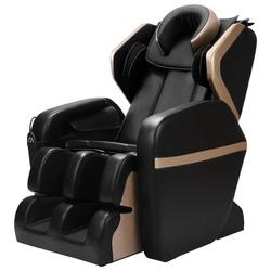 Inbox Zero Electric Faux Leather Reclining Heated Full Body Massage Chair For Home in Black, Size 105.8 H x 43.3 W x 51.18 D in | Wayfair