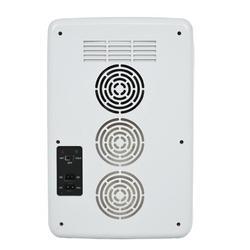YWANG 20L Portable Small Mini Fridge,Car Refrigerator Mini Cold & Warm Refrigerator Plastic in Gray, Size 16.5354 H x 10.6299 W x 12.9921 D in