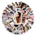 Autocollants Graffiti Singer Ariana Grande, 10/30/50 pièces, valise de voyage, téléphone, guitare,