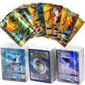 Lot de 10 cartes de Collection pokémon françaises GX EX VMAX TAG TEAM, jeu de commerce de haute