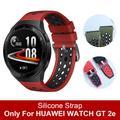 Bracelet en silicone souple de Style officiel pour montre HUAWEI GT 2e, bracelet Correa spécial