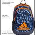 Adidas Other | Adidas Backpack New Blue Camo | Color: Blue/Orange | Size: Osb