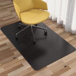 IMMORTAL Office Chair Mat For Hardwood Floor & Tile Floor, Under The Desk Mat For Rolling Chair & Computer Desk in Black/Brown | Wayfair