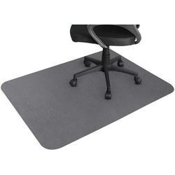 IMMORTAL Office Chair Mat For Hardwood & Tile Floor, Under The Desk Mat For Rolling Chair & Computer Desk, Anti Slip in Gray   Wayfair