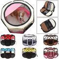 Tente pliante pour chien, Cage octogonale Portable et respirante pour chat, parc pour chiot, niche,