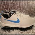 Nike Shoes | New Nike Roshe G Tour Golf Shoes Cleats Ar5579-105 | Color: Blue/White | Size: 11.5 W