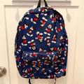 Disney Bags | Mickey Mouse Backpack Disney Store | Color: Blue/Red | Size: Os