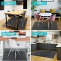 LINYI FLY Thick Polyester Anti-Slip Chair Mat, Computer Chair Mat Perfect For Desks, Office, Size 0.4 H x 36.0 W x 48.0 D in | Wayfair