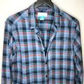 Columbia Shirts | Columbia Mens Plaid Flannel Button Down Shirt M | Color: Blue/Red | Size: M