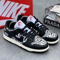 Nike Shoes | Nike Sb Black And White Zebra Casual Sports Skateboard Shoes | Color: Black/White | Size: Various