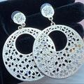 Torrid Jewelry | Bogo Free Sparkle Dangly Laser Cut Earrings | Color: Gold/Silver | Size: Os